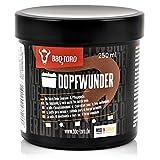 BBQ-Toro DOPFWUNDER - Die Dutch Oven Einbrenn- & Pflegepaste I 250 ml I Paste für Pflege von Gusseisen Grillzubehör I Einbrennpaste auch für Grillrost, Grillplatte, Grillpfanne und mehr