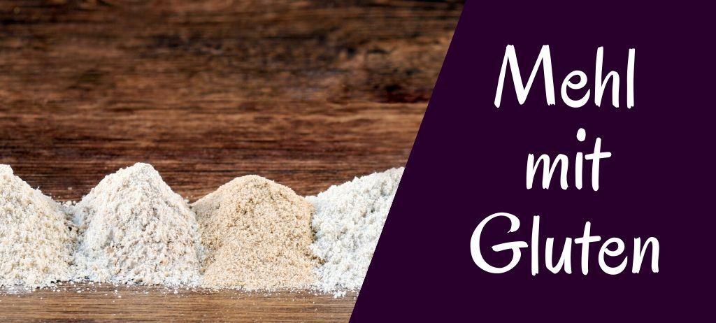 glutenhaltiges Mehl