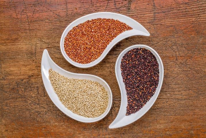 Quinoa gibt es in 3 Varianten