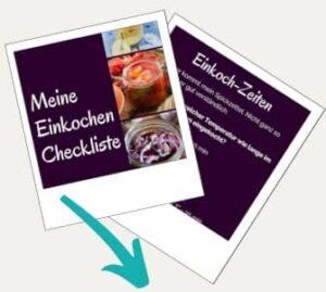 Checkliste Einkochen