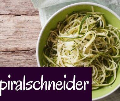 Spiralschneider – Zucchininudeln für alle