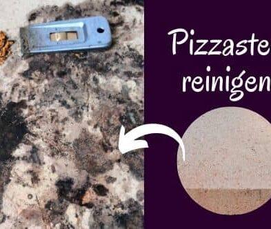 Pizzastein reinigen – die einfachste Methode