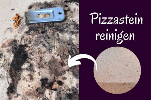 Pizzastein reinigen