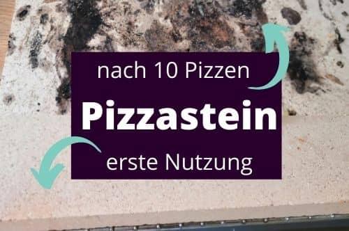 Verfärbungen beim Pizzastein